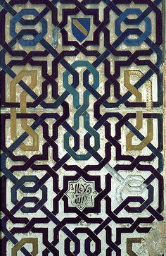 Catalog NoSPA 0107 MonumentAlhambra TownGranada RegionSpain DynastyNasrid CE13-15th century AH7-9th century CanonGeometric Pattern