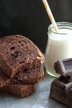 Ricetta Pane al cacao con pezzi di cioccolato  Foto 'pinnata' dai nostri lettori di CAFElab - Labna