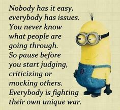 Truer words have never been spoken but still gonna place it with my minions under just for fun Cute Quotes, Great Quotes, Funny Quotes, Crazy Quotes, Funny Minion Memes, Minions Quotes, Positive Quotes, Motivational Quotes, Inspirational Quotes