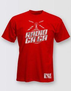We Will Rock You Unisex Radio Gaga T-Shirt - Playbill Pty Ltd