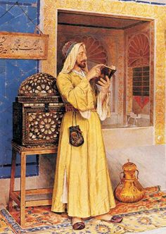 By Osman Hamdi Bey was an Ottoman administrator, intellectual, art expert and also a prominent and pioneering painter. He was also an accomplished archaeologist, and is considered as the pioneer of the museum curator's profession in Turkey
