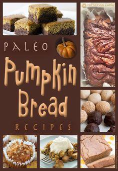 20 of the Best Paleo Pumpkin Bread Recipes