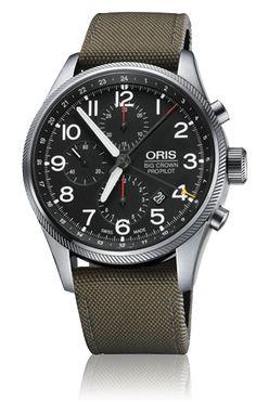 Oris Big Crown ProPilot - Oris Big Crown ProPilot Chronograph GMT 01 677 7699 4164-07 5 22 14FC