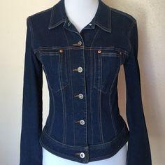 A.B.S Denim Jacket Cotton spandex mix A.B.S Jackets & Coats Jean Jackets
