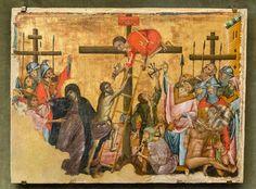 Guido da Siena: Croce Ascensione di Cristo [A 1270-1280, Museo Catharijneconvent Utrecht]