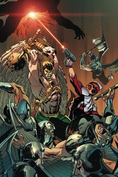 HAWKMAN AND ADAM STRANGE: OUT OF TIME #3 - Comic Art Community GALLERY OF COMIC ART
