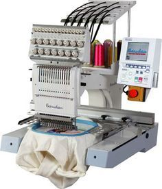 I own two of these for my professional embroidery business. Best machine out there!