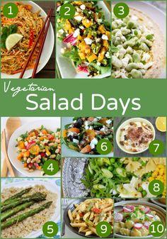 20 vegetarian salads
