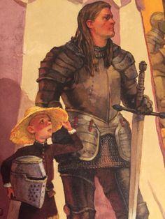 Dunk & Egg; Ser Duncan the Tall & The young Crown Prince Aegon V Targaryen.