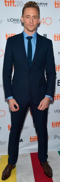 Tom Hiddleston attends the 'I SAW THE LIGHT' premiere during the 2015 Toronto International Film Festival at Ryerson Theatre on September 11, 2015 in Toronto. (From Torrilla). #SuitPornSunday. Full size image (photoset): http://maryxglz.tumblr.com/post/154624047642/tom-hiddleston-attends-the-i-saw-the-light