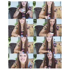 Pictures from Melina's video '20 random and interesting facts about me' on Youtube. Subscribe to her on youtube: Melina DiMambro!