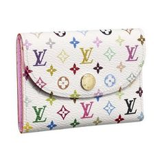 Louis Vuitton Monogram Multicolore Business Card Holder #bags #fashion