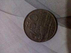MOEDA DE CUPRONÍQUEL - MARAVILHOSA!Moeda 50 Centavos De Cruzeiro De 1970