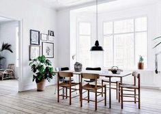 D jak DESIGN-dom, wnętrze, lifestyle: Frederiksberg - stylowy, jasny apartament
