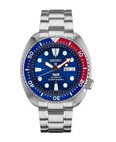 New Seiko Padi Automatic Prospex Pepsi Turtle Divers 200M Mens Watch SRPA21  Pepsi b41c433c69
