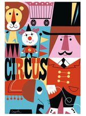 Juliste Circus, Ingela P Arrhenius | konglomerat.fi