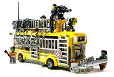 Lego zombie skullbus