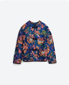 Image 8 of FLORAL PRINT JACKET from Zara