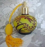 Dragonfly Perfume Bottle.