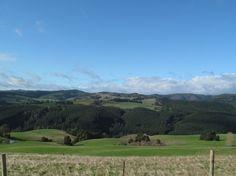 Scenic farmland surrounding the Strzelecki Ranges