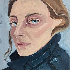 Portrait of Phoebe Philo by Gill Button