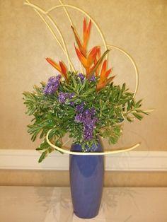 How to Make Flower Arrangement in Tradition of Ikebana Ikonobo with Ikebana Kenzan
