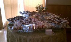 July, 2011 Wedding - Dessert Display  Cheesecake & Brownie Display Grooms Table, Cheesecake Brownies, Glass Blocks, Wedding Desserts, Holiday Parties, Party Planning, Bridal Shower, Wedding Ideas, Display
