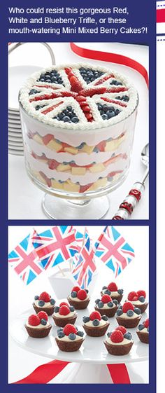 BEST! TRIFLE! EVER! (Probably not the best for a 4th of July party, though!)