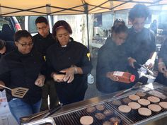 Mrs. Wiley & her culinary students did a fantastic job keeping everyone well fed at Matt's Great8 Tailgate!