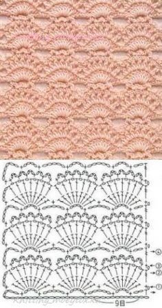 Watch This Video Beauteous Finished Make Crochet Look Like Knitting (the Waistcoat Stitch) Ideas. Amazing Make Crochet Look Like Knitting (the Waistcoat Stitch) Ideas. Crochet Motifs, Crochet Borders, Crochet Stitches Patterns, Tunisian Crochet, Crochet Chart, Love Crochet, Crochet Designs, Crochet Lace, Stitch Patterns