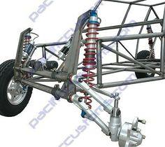 New Sandrail Front Coil Suspension Kit 12 Inch Travel Fox Shox - VW Dune Buggy Go Kart Buggy, Off Road Buggy, Vw Beach, Beach Buggy, Kart Cross, Vw Dune Buggy, Vw Baja Bug, Go Kart Plans, Vw Fox