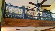 Metal railing done by Cutting Edge Plasma Works.