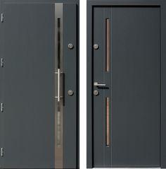 Drzwi wejściowe do domu z katalogu inox wzór 451,1-451,21+ds1