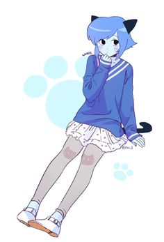 Lapis as a kitty