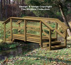 Landscape Timber Bridge Woodworking Plan Winfield collection plans.  Might need to look into getting the pattern.