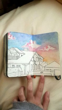 / art journals / tumblr / art / journal / writing / drawing / paint / color / write / express yourself / do art / create / be creative / washi tape / illustration / aesthetic / words / sketchbook / ar (Beauty Art Watercolor)