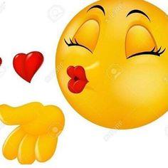 Sending a kiss emoticon