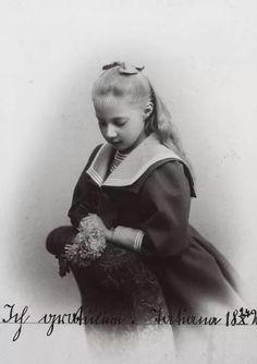 Tatiana Konstantinovna Princess of Russia.  (23 January 1890–28 August 1979) was the third child and oldest daughter of Grand Duke Konstantin Konstantinovich of Russia by his wife, Elisaveta Mavrikievna, née Princess Elisabeth of Saxe-Altenburg.