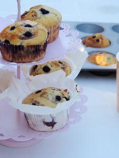 Muffins myrtilles et vanille (comme chez Starbuck) - C'est bon et C'est légal