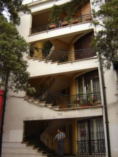 Barrio Lastarria.  Santiago, Chile.
