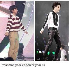 lol exo funny joke d.o kyungsoo funny meme Exo Ot12, Kaisoo, I Like Him, Memes Exo, Exo Facts, Chanyeol Baekhyun, Kim Minseok, Xiuchen, Exo Do