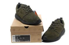 official photos d026e 65031 Nike Roshe Run Suede Mens Brown Buy UK