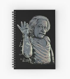 Millions of unique designs by independent artists. Find your thing. My Notebook, Canvas Prints, Art Prints, Albert Einstein, Graphic Illustration, Spiral, Sprinkles, Finding Yourself