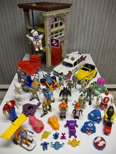 My Ghostbusters collection, from growing up in the 80's - Imgur- via Reddit