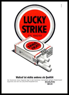 Lucky Strike, Look at it for the logo and branding
