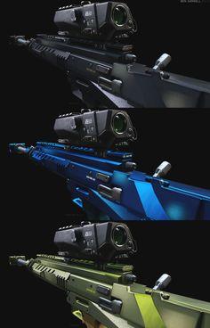Dirty Bomb - Sniper Rifles/DMRs, Ben Garnell on ArtStation at https://www.artstation.com/artwork/dirty-bomb-sniper-rifles-dmrs