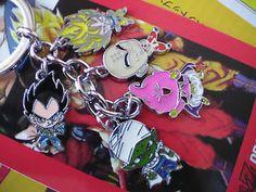 Dragon Ball Z/GT key ring set - Goku Majin Buu Gohan Trunks Piccolo Vegeta Puar!