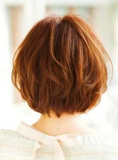 12. Short Layered Bob