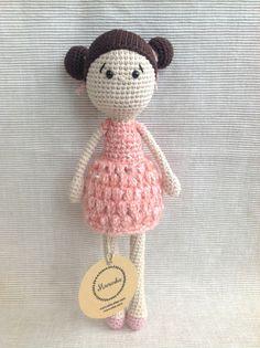 EMILY  Crochet Doll Amigurumi Doll Handmade Doll by Manuska