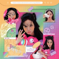 Black Pink Kpop, Cybergoth, Blackpink Jisoo, Aesthetic Iphone Wallpaper, Picsart, Packing, Deviantart, Hugs, Overlays